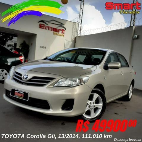 Smart Veículos - TOYOTA Corolla Gli, 13/2014, 111.010 km. R$49.900,00