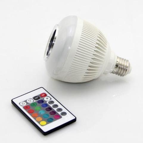 Lampada Musical com Bluetooth e Controle Remoto - Foto 5