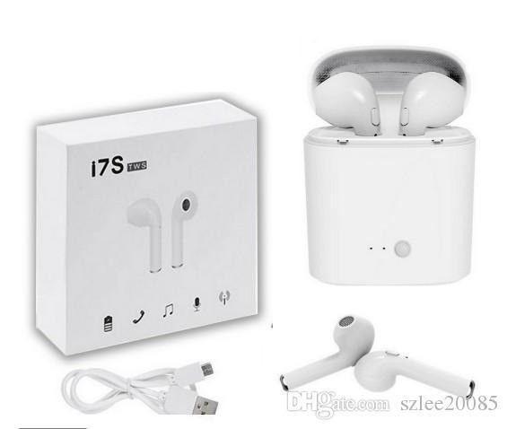 Fone de ouvido Bluetooth I7S TwS+ Mini - IOS e Android - Foto 5