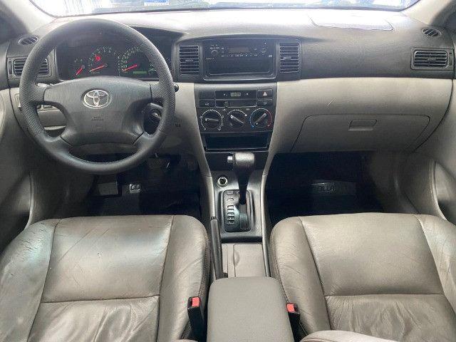 Toyota Corolla XEI Automatico + Couro 2005 - Foto 8