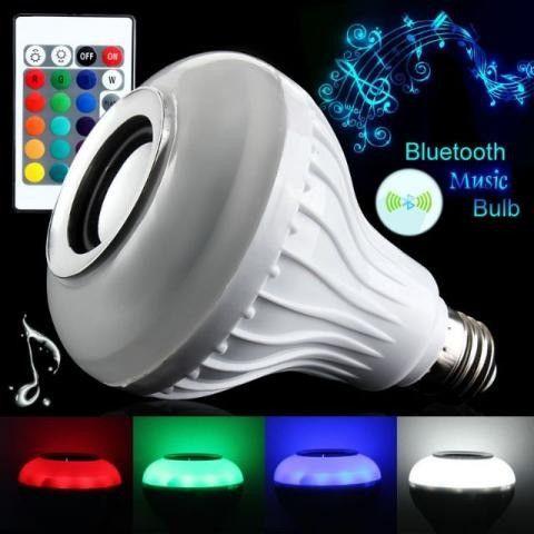 Lampada Musical com Bluetooth e Controle Remoto - Foto 2