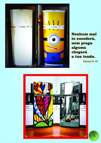 Envelopamentos de geladeira, eletro doméstico, parede e veículos   - Foto 4