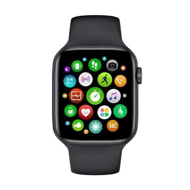 Smartwatch Relógio Iwo 12 Lite Pro W26 Tela Infinita Original - Foto 3