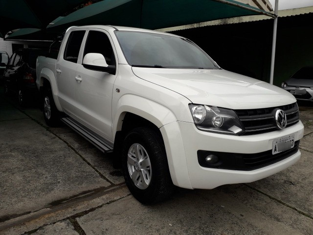 Amarok 2.0 Trendline 4x4 CD 2014 Autom. Turbo Intercooler Diesel - Foto 2