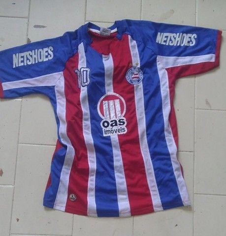 Camisas antigas do Bahia e Flamengo - Foto 5
