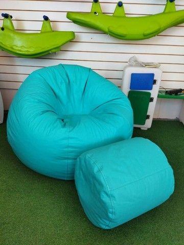 Leve conforto, inovação e praticidade pro seu lar - Puff, pufi, pufe