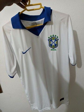 Camisa do Brasil nunca usada no preço 50$$ - Foto 3