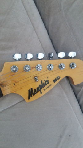 Guitarra Menphis e caixa Sheldon - Foto 4