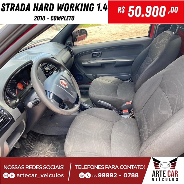 Strada hard working 1.4 completo 2018!! - Foto 3