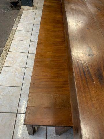 Vende mesa de madeira rústica  - Foto 4