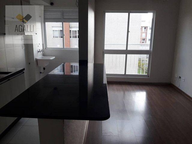 Apartamento com 2 dormitórios para alugar por R$ 1.300,00/mês - Hauer - Curitiba/PR - Foto 5