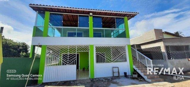 2 Casas com 5 dormitórios à venda, 250 m² por R$ 370.000 - Barra Grande - Vera Cruz/BA