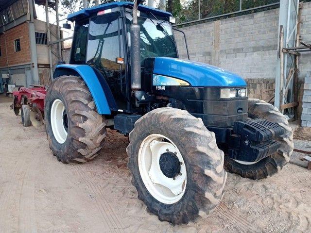 Trator  New Holland TS 6020 Ano 2013 - Foto 4