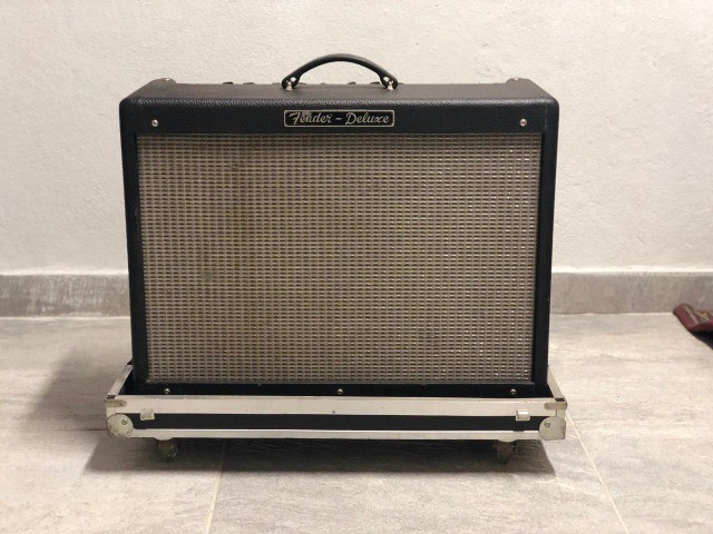 Fender Hot rod Deluxe USA Com Hardcase