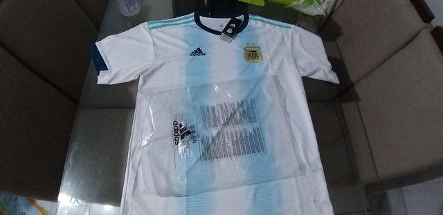 Camisa da Argentina adiadas muito top zaAlexsandro camisa tailandesa   - Foto 6
