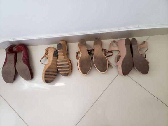 Sandálias anabela,  - Foto 2