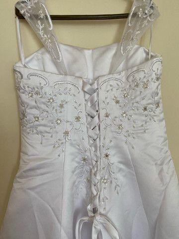 Vestido de noiva bordado - Foto 6