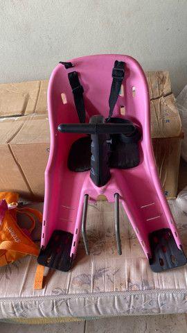 Balanço, colete e cadeira da bike - Foto 3
