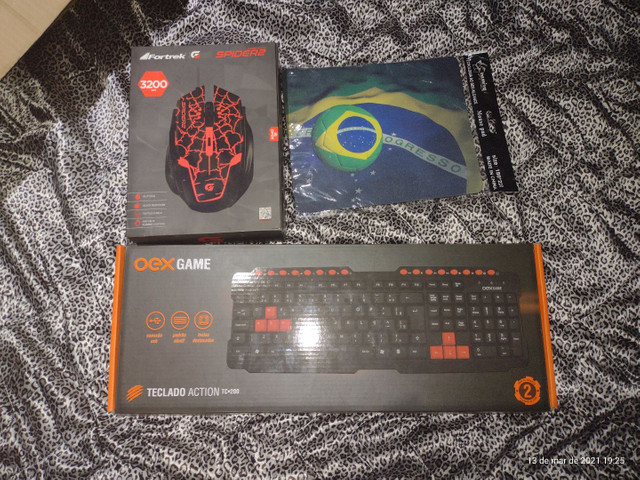 Kit semi gamer teclado e mouse - Foto 2
