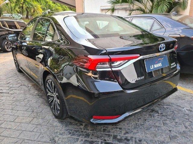 Toyota Corolla Altis Premium Hybrid, Blindado 3A, Apenas 11 mil km, Impecavel - Foto 6