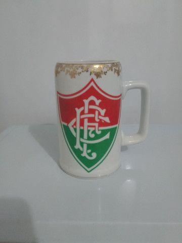 Caneca Cerâmica Fio D'Ouro Fluminense