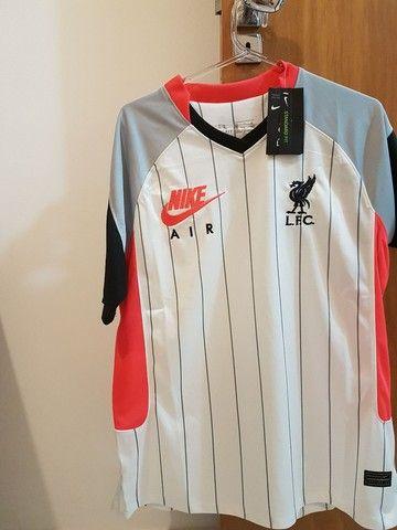 Camisa Liverpool Nike Air - tamanho M
