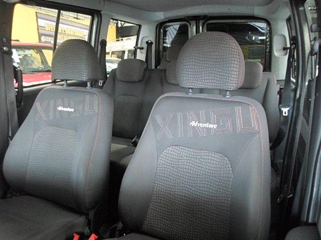 Fiat - Doblo Adventure Xingu 2013 Verde 6 Lugares Completo - Foto 4