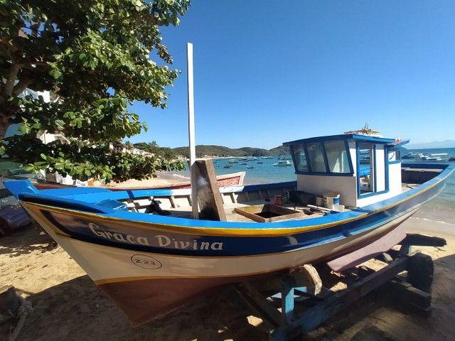 Casco traineira barco - Foto 2