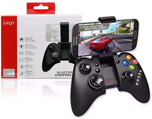Controle Joystick Bluetooth Android IOS Pc Smartphones e Tablets (PG-9021S) - Foto 2