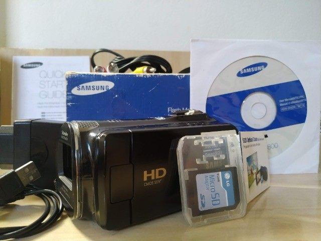 Filmadora Samsung HMX F80