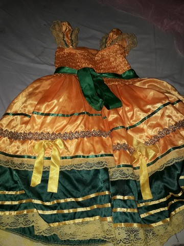 Vestido quadrilha rainha do milho  - Foto 3