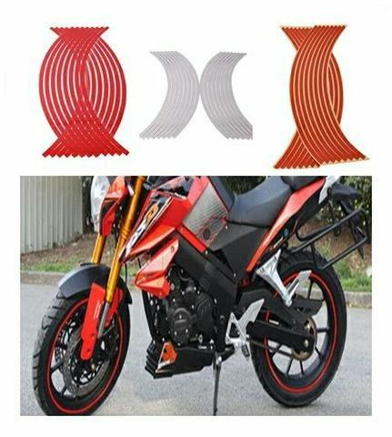 Fita refletiva roda Moto Carro ou Bike