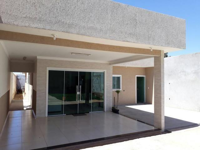 Linda casa no Setor de Mansões de Sobradinho, aceita casa no Rk - Foto 3