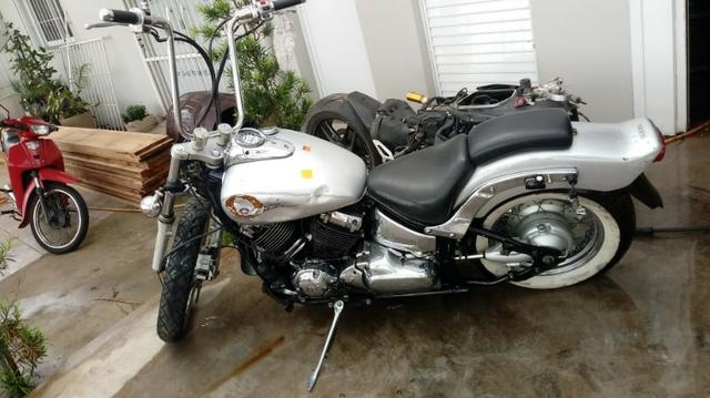 Moto Para Retiradas De Peças/sucata Yamaha Drag Star ano 2005/2008 - Foto 4