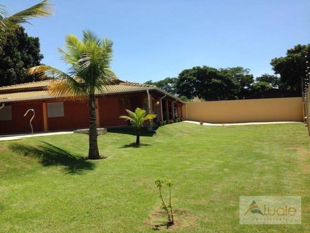 Chácara com 6 dormitórios para alugar, 1354 m² por r$ 5.000,00/mês - chácara recreio alvor - Foto 11