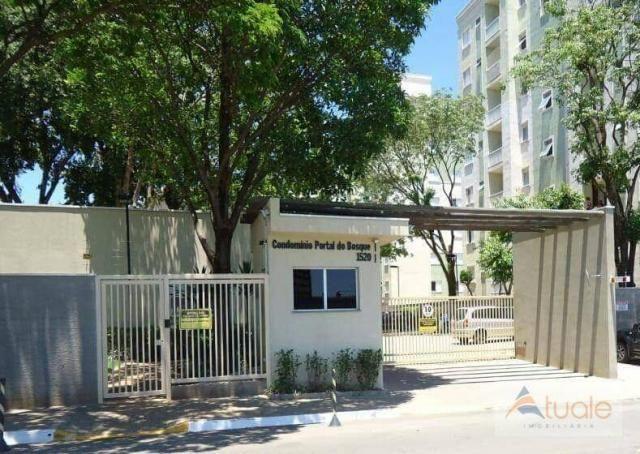 Apartamento no condomínio portal do bosque, campinas, ap5771.