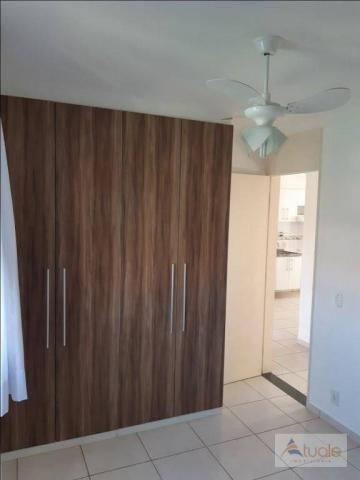 Apartamento com 2 dormitórios para alugar, 46 m² por r$ 1.050,00/mês - parque villa flores - Foto 8