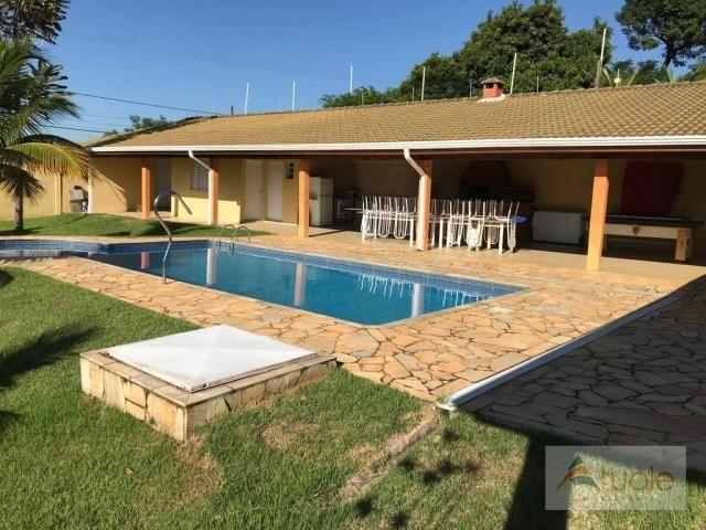 Chácara com 6 dormitórios para alugar, 1354 m² por r$ 5.000,00/mês - chácara recreio alvor - Foto 16