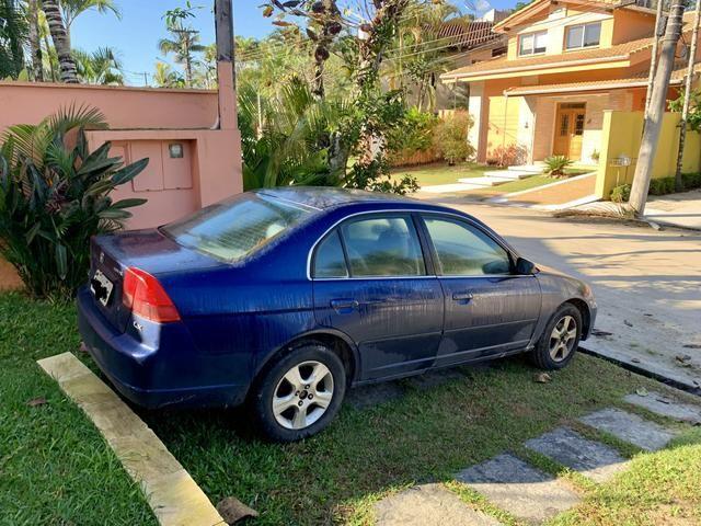 Honda Civic 1.7 automático azul - Foto 3