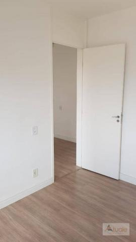 Apartamento com 3 dormitórios à venda, 63 m² - Villa Flora Hortolandia - Hortolândia/SP - Foto 17