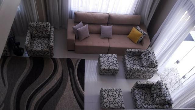 Casa duplex 5 suítes, 1/4 em Barra do Jacuípe Magnifica - Diária - Foto 6