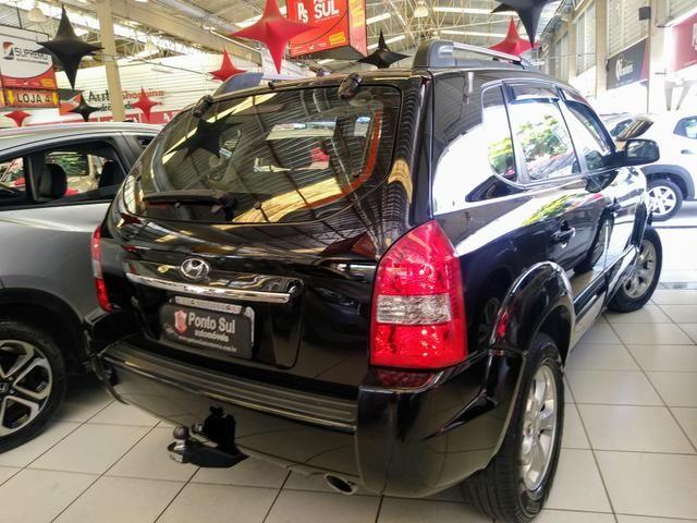 ® Hyundai Tucson GLS 2.0 2012/2013 Automatico Flex Baixo Km Bancos em Couro - Foto 3