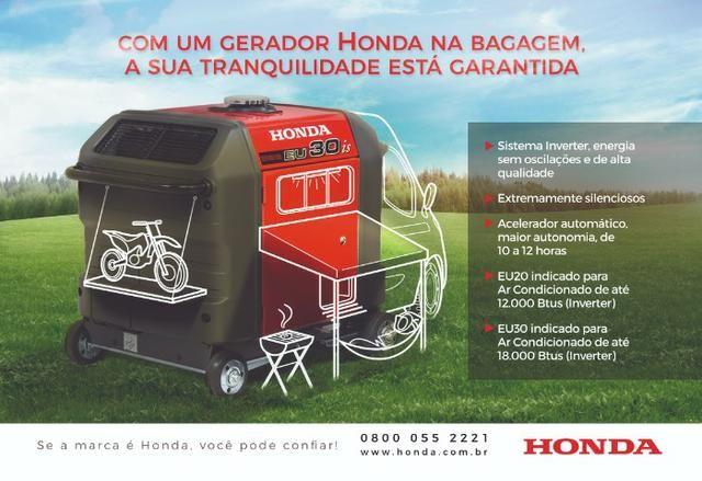 Gerador EU30iS LB 3.0KVA 120v Honda - Foto 6