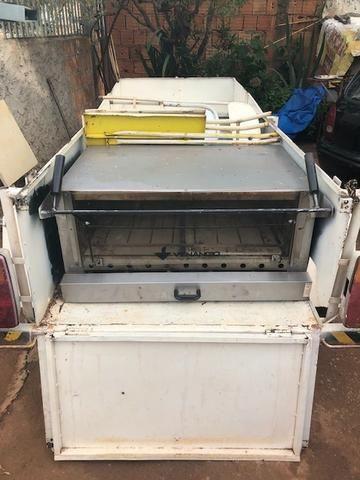 Carretinha reboque trailer sem placa (Leia o anuncio) - Foto 3
