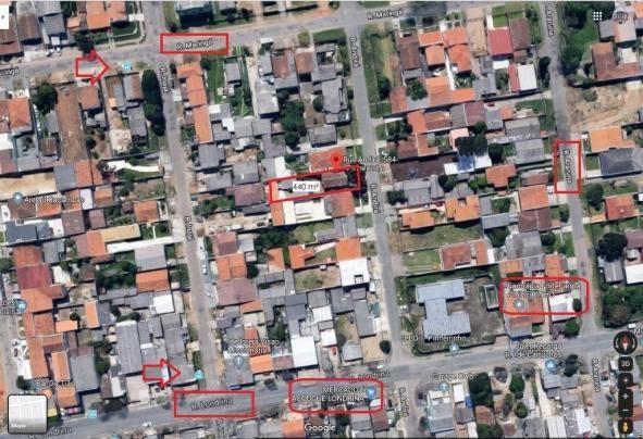 Terreno à venda, 440 m² por r$ 300.000,00 - pinheirinho - curitiba/pr - Foto 18
