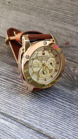 Relógio Premium à pronta entrega! Novo e com garantia!