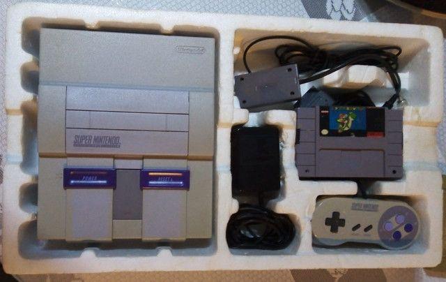 Super Nintendo 1990 - Foto 2