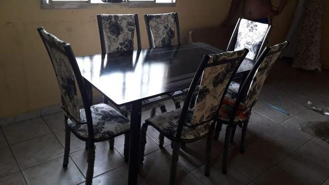 Mesa bm 6 cadeiras