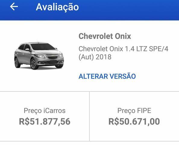 Onix 2018 1.4 LTZ Automático c/15Mil KM Apenas! Atibaia- SP - Foto 9