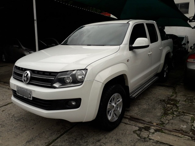 Amarok 2.0 Trendline 4x4 CD 2014 Autom. Turbo Intercooler Diesel